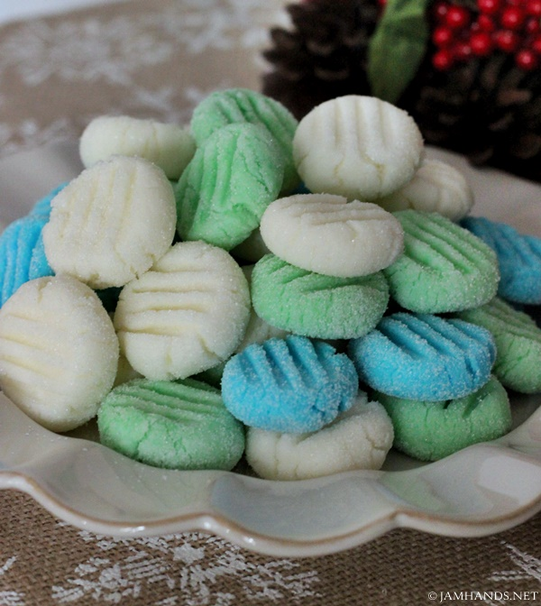 Jam Hands: Holiday Cream Cheese Mints