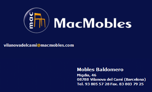 MacMobles - Mobles Baldomero