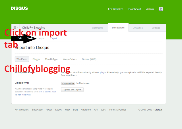 import existing blogger comments into Disqus