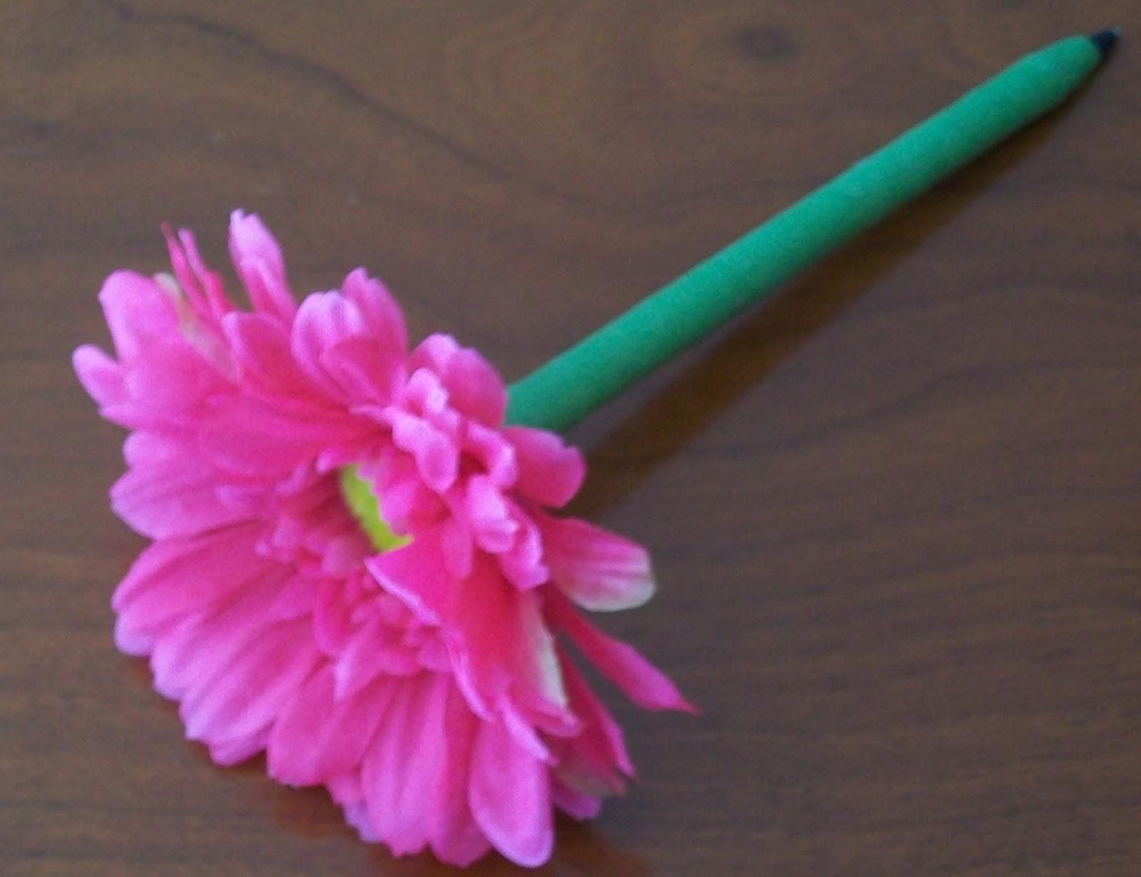 Flower Pen Set: DIY | Wedding Flowers Made Easy