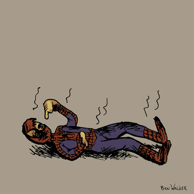 Melted Spiderman