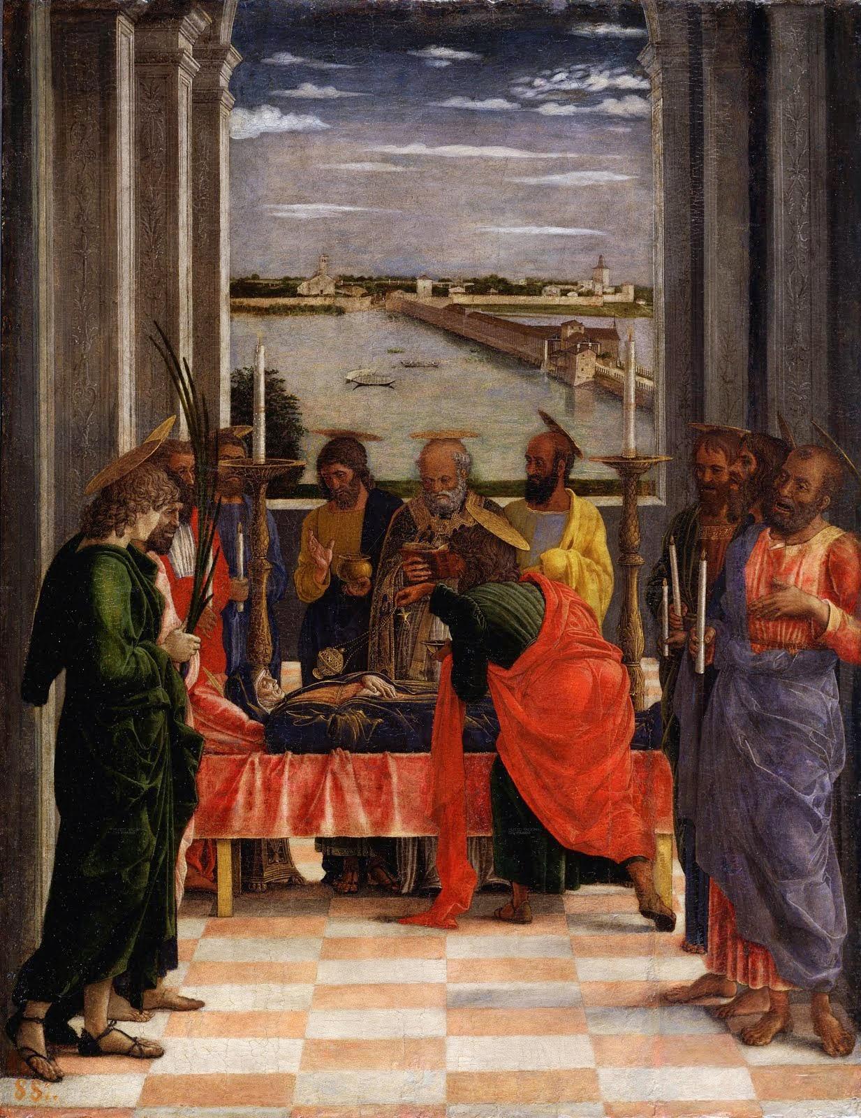 Andrea Mantegna - morte della Vergine