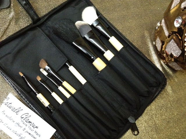 Catwalk-Glamour Luxury Sable 8 Makeup Brush Set