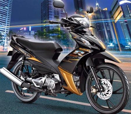 Review Suzuki Shogun Axelo 125 SE