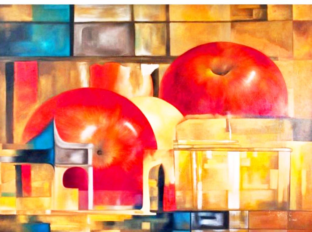 Im genes arte pinturas cuadros de bodegones modernos for Cuadros de oleo modernos