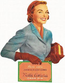Bella Aurorpa póster vintage