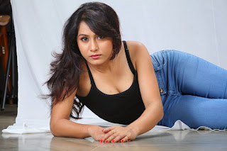 Smithika Acharya in lovely Tank Top Denim Jeans Modelinf Pics Glamorous Agvatar