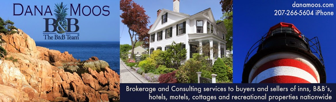 Inns, Bed and Breakfasts, hotels, motels & cottages for sale, aspiring innkeepers