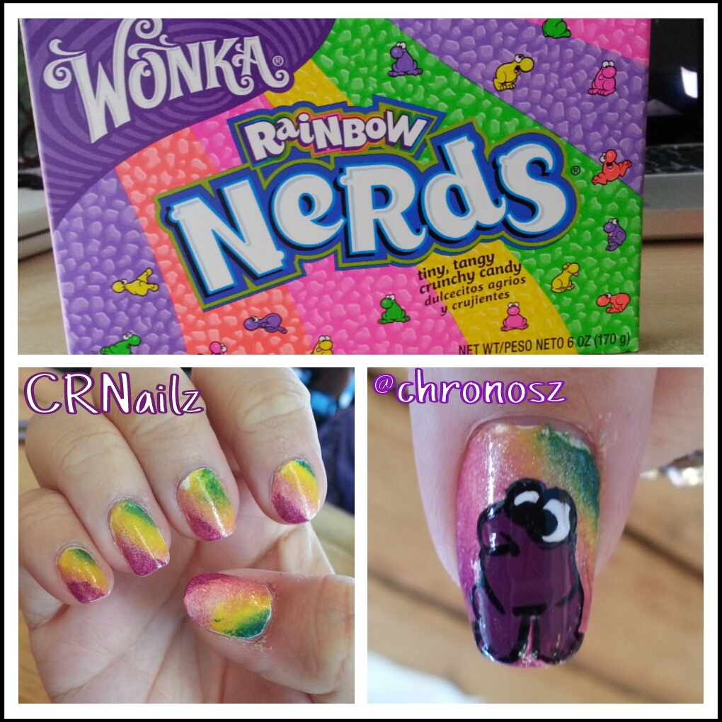 CRNailz: Rainbow Nerds