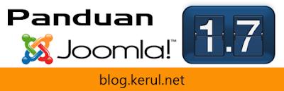 logo panduan Joomla 1.7 melayu oleh blog.kerul.net