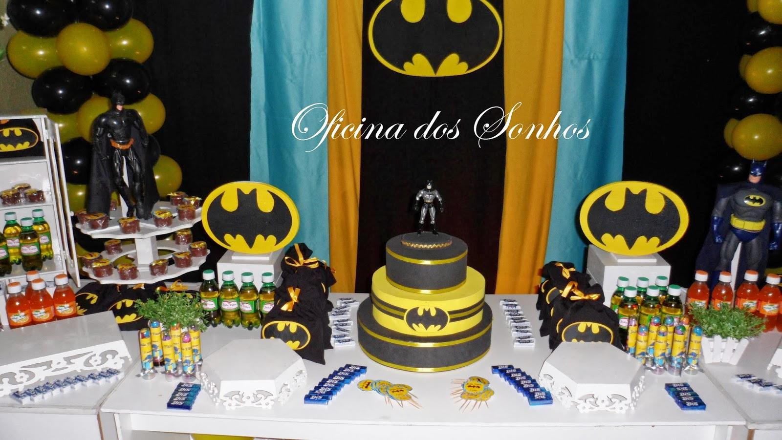 decoracao festa batman: eventos empresariais: DECORAÇÃO INFANTIL PROVENÇAL BATMAN