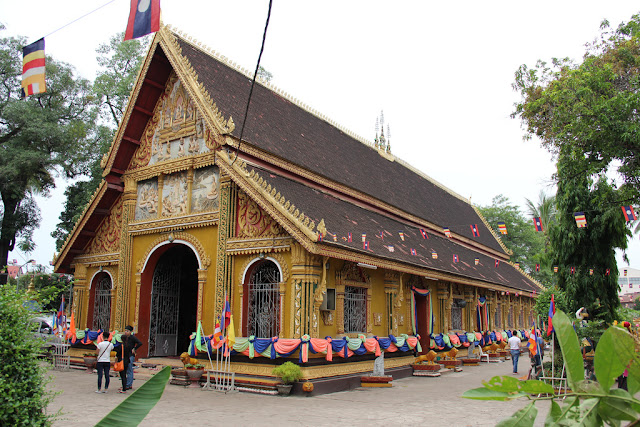 Wat Si Muang - Những điểm tham quan nổi bật ở Viên Chăn Lào