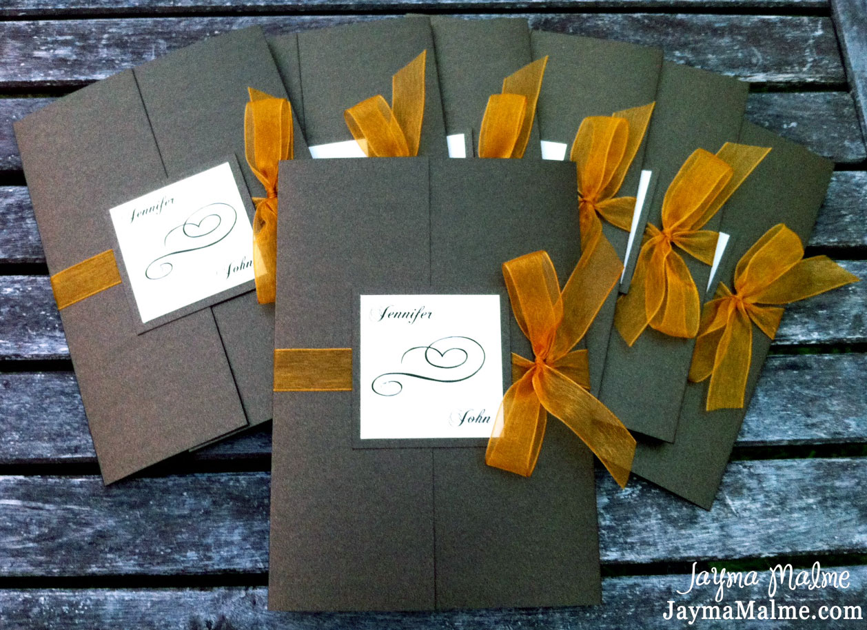Playing With Paper CTMH Scrapbooks Cards Amp DIY Fall Wedding Invitations Amp Thank You Card