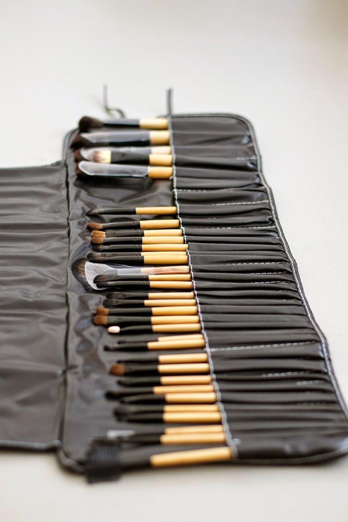 set pennelli trucco professionale