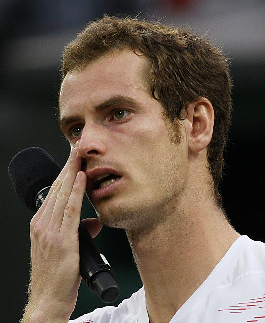 Andy Murray: Humble Andy Murray Crying After Wimbledon Finals