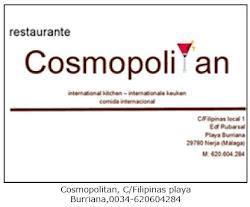 Restaurant Cosmopolitan