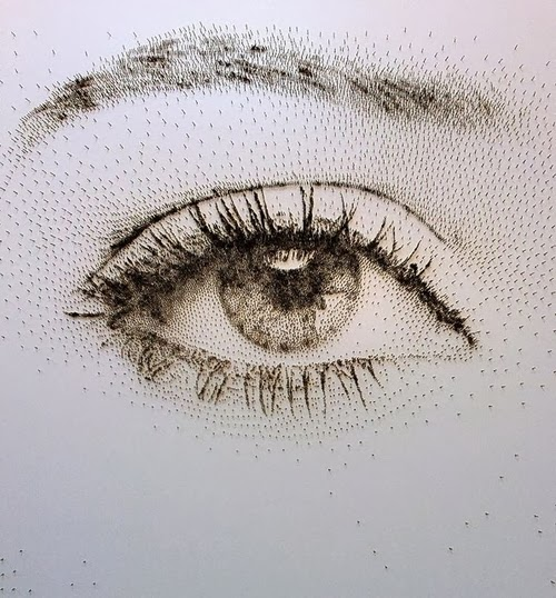 04-Eye-David-Foster-Stippling-Art-with-Nails-www-designstack-co