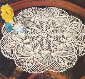 """Tapete """"Flores y Capullos"""" a Crochet"""