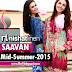 Nishat Linen Saavan Collection 2015 | Nisha Midsummer Collection