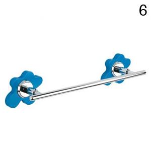 toallero color baño accesorio buble flor
