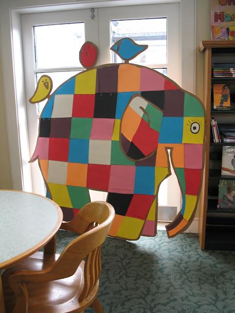 elephant patchwork quilt