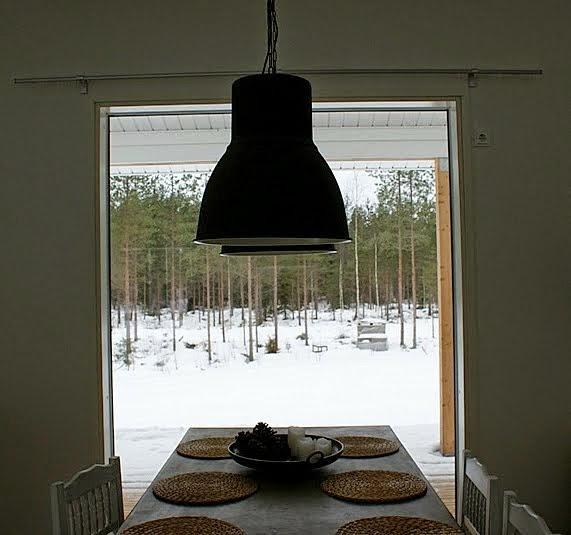 hektor lamppu, betoni pöytä