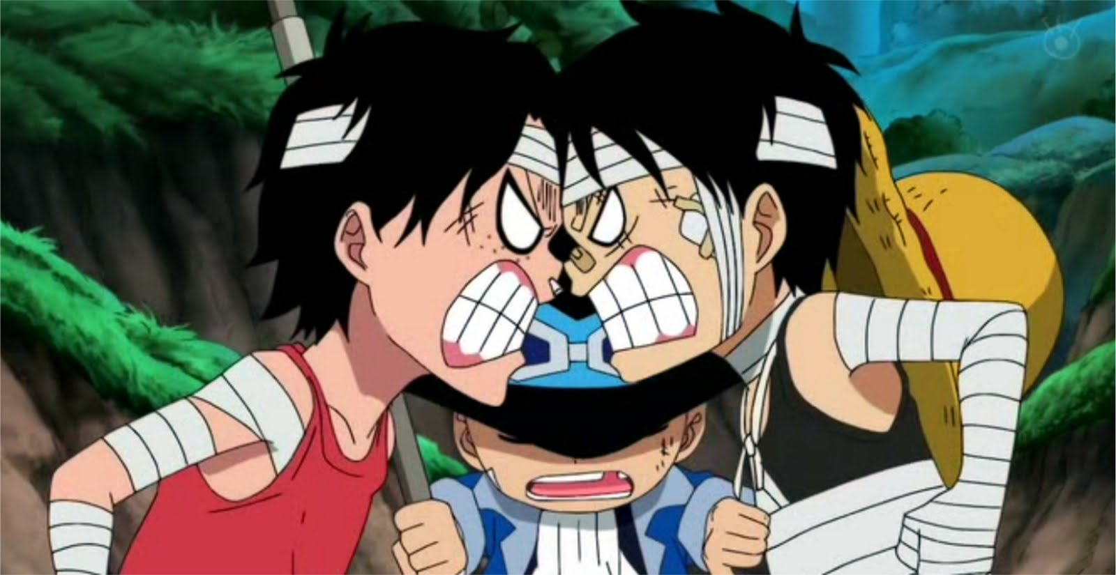 Manga - Artist: Ace & Sabo & Luffy Shattered Dream AMV ...