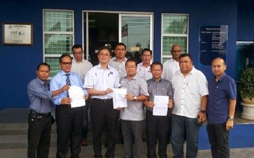 Pemuda BN Sarawak Buat Laporan Polis Terhadap Chong Hina Negaraku