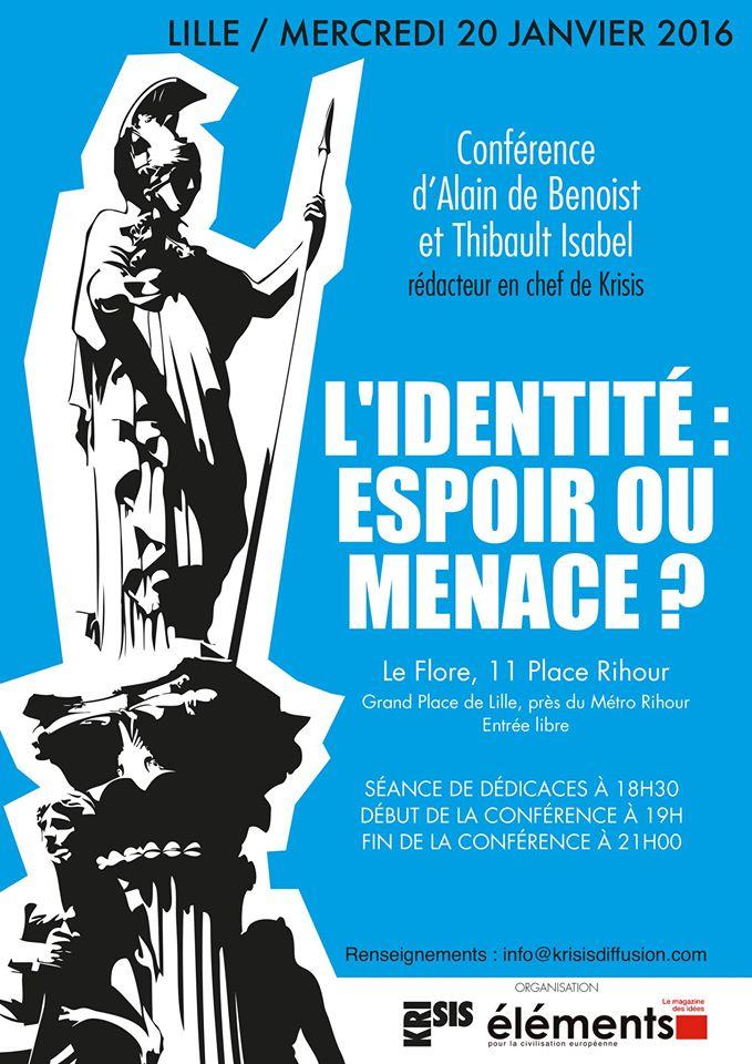 Conférence Alain de Benoist / Thibault Isabel