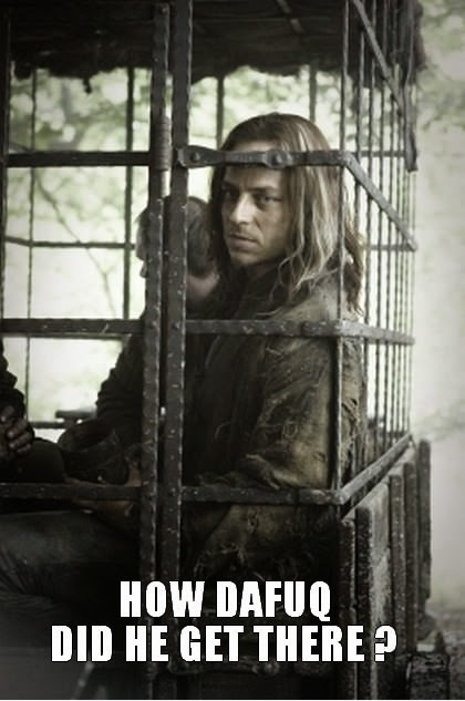 Jaqen H'ghar meme game of thrones