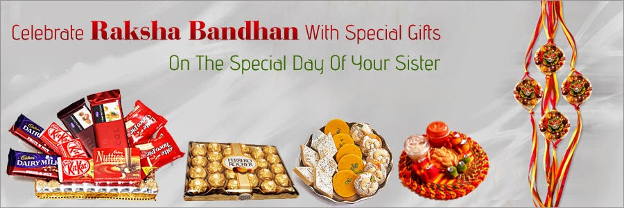 Celebrate Raksha Bandhan with special Gifts on the special day of your Sister