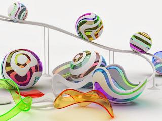3D figure u bojama slike besplatne pozadine za desktop download