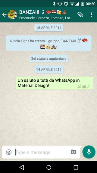 Whats App  versi 2.12.34