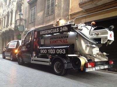 Desatascos Komunal en Sabadell