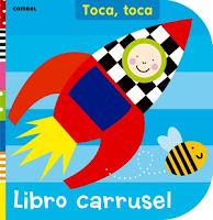 libros infantiles; libros texturas; libro carrusel; combel
