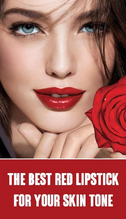 #Beauty : The Best Red Lipstick For Your Skin Tone