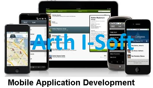Mobile App Development Services at Arth I-Soft