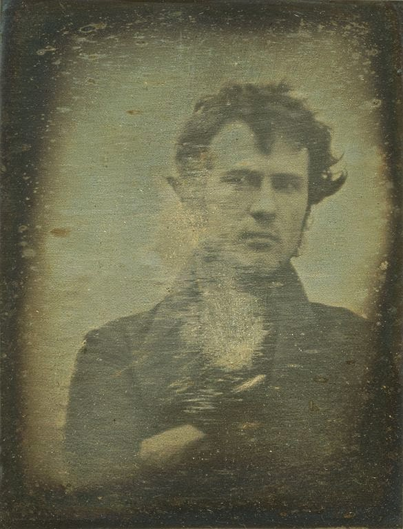 first selfie, old selfie, coarsening culture, technology, internet humor, internet culture, robert cornelius