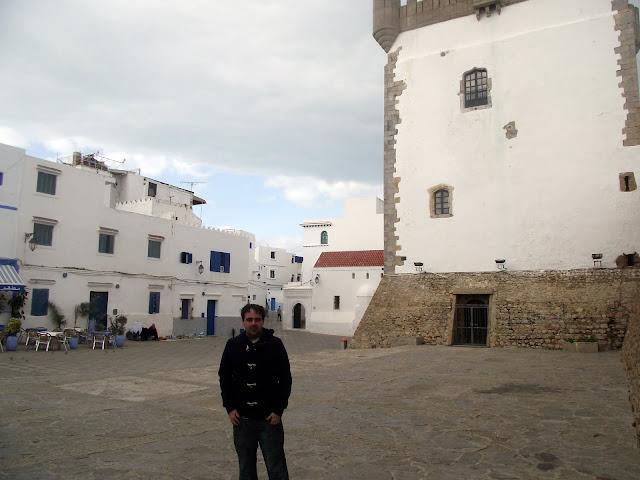 Plaza principal de Asilah, fuerte portugués
