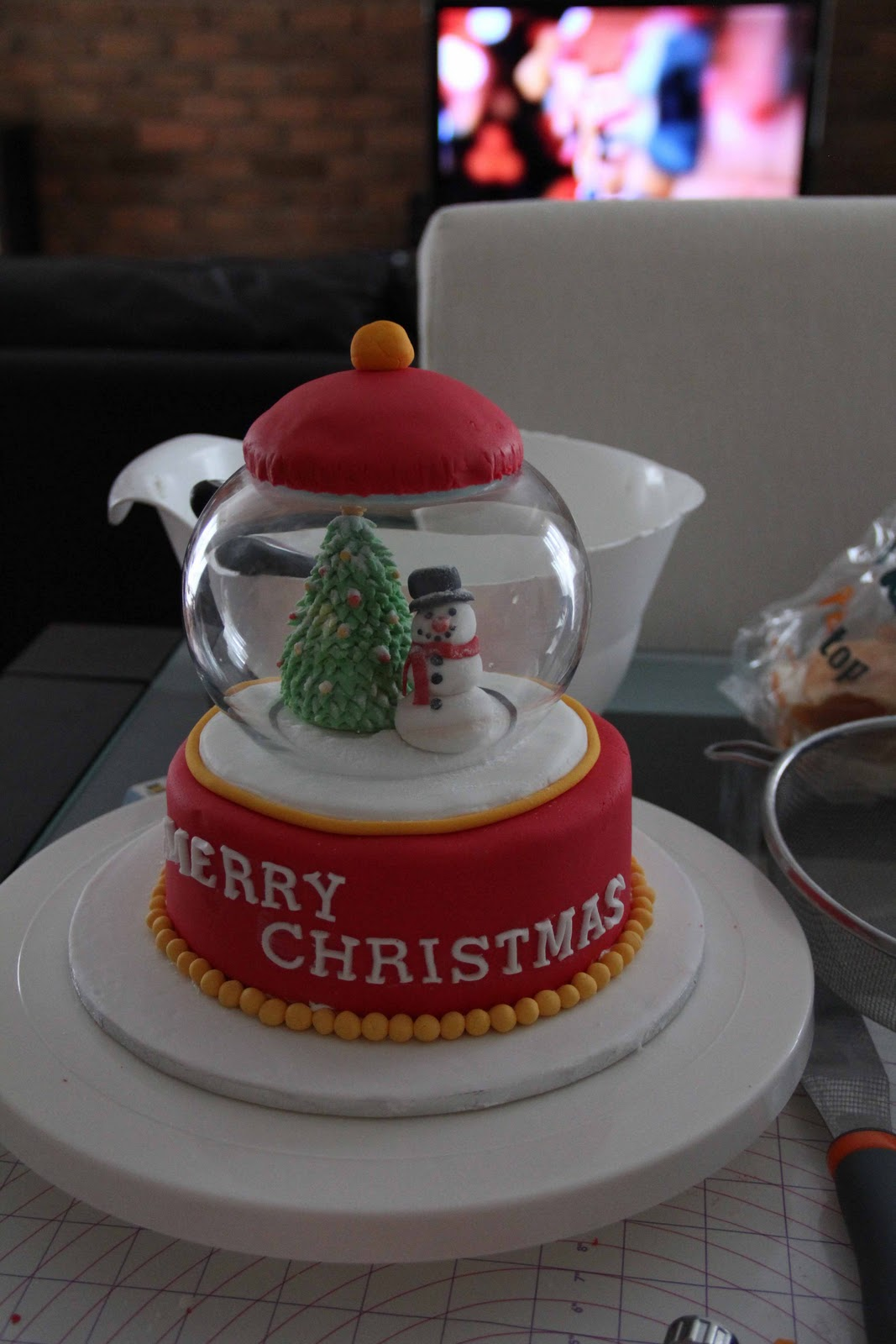 How to make christmas cake - Will Make Sure To Taste Test It Again Because I Will Need To Make Marble Cakes Soon For My Customer
