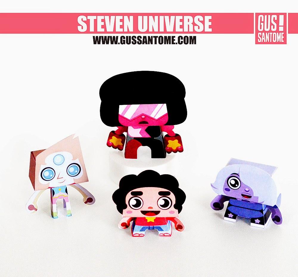 Steven Universe Paper Toys