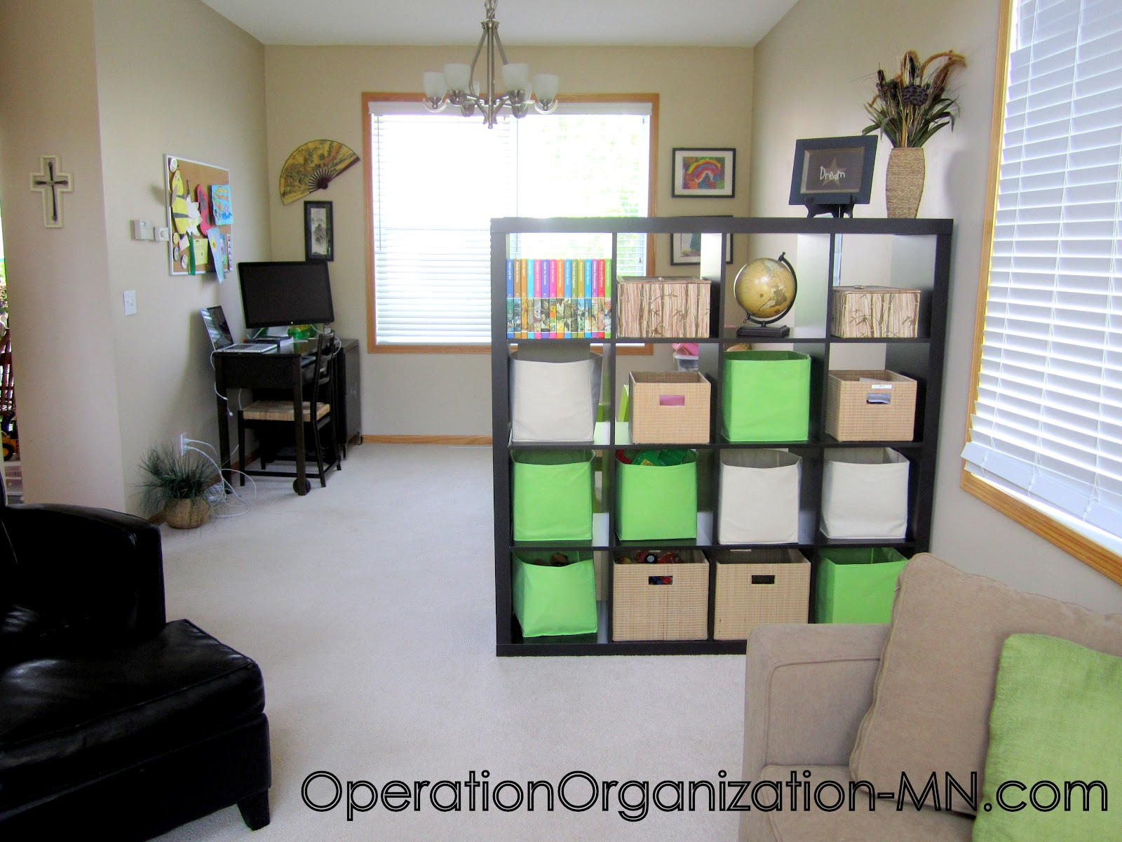 Operation organization professional organizer peachtree for Organize living room ideas