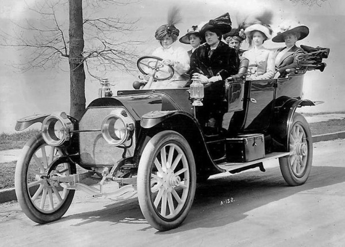Women on a mission, c1910 ~