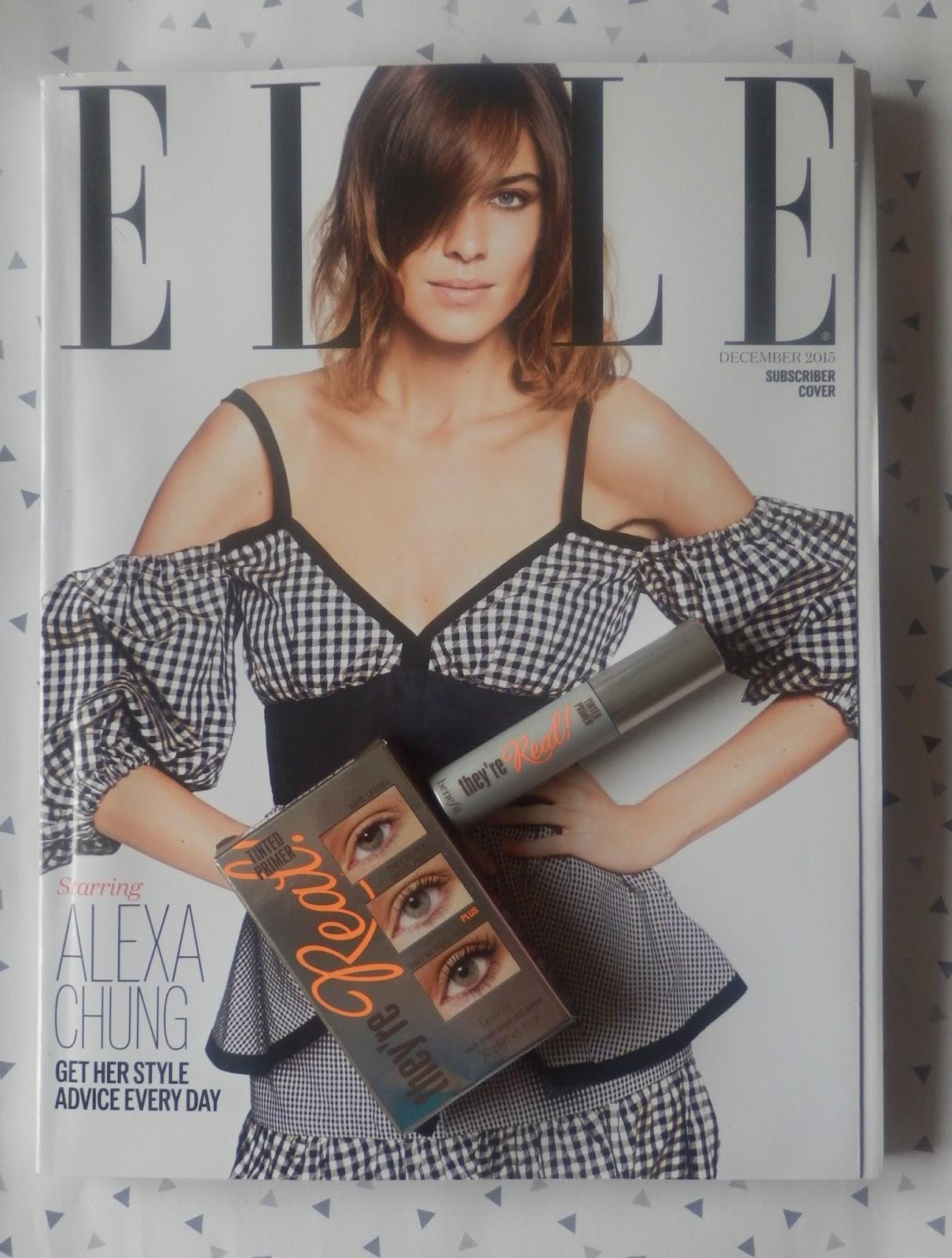 Magazine freebies november 2015 for Elle magazine this month
