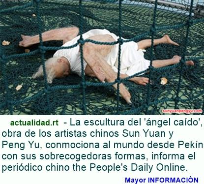 MUNDO: Las impactantes fotografías del 'ángel caído' conmocionan a la Red