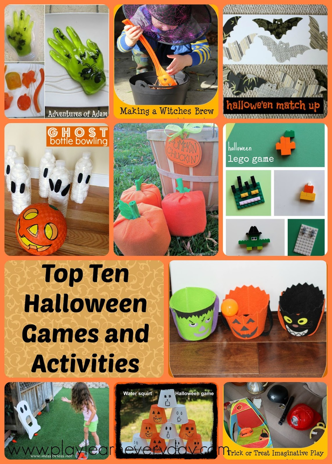 top ten halloween games and activities play and learn
