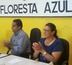 Floresta Azul: Deputada Ângela Sousa foi recebida com festa pela população local