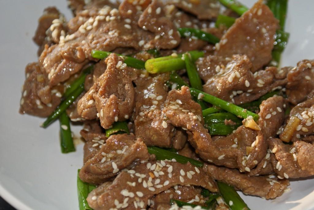 Stir Fried Sesame Beef : Chinese Recipe ~ asiadeli