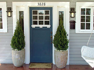 Interesting 70+ Front Door Colors For Gray House Inspiration Design ...