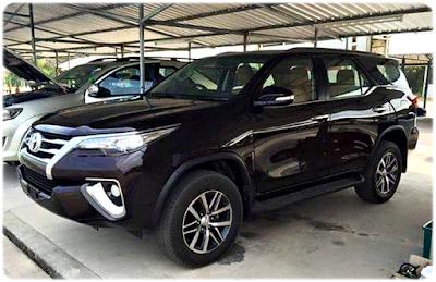 Foto Toyota Fortuner Terbaru 2016 - Eksterior Samping Kiri